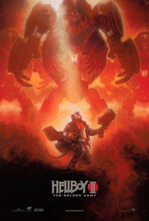 Cartel de Hellboy II por Drew Struzan