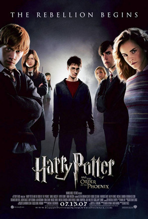 Cartel Harry Potter y La Orden Del Fenix