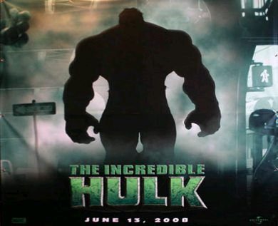 Teaser cartel de The Incredible Hulk