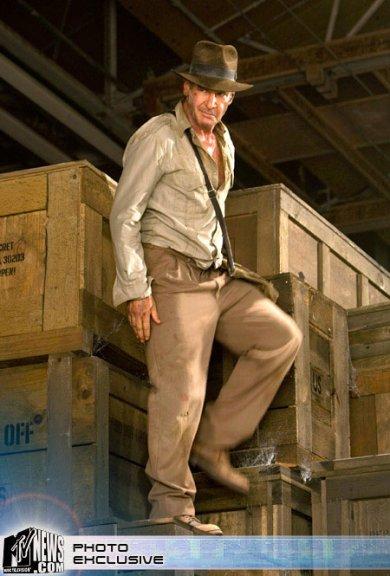 Indy en al almacén