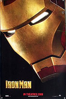 Cartel teaser de Iron Man