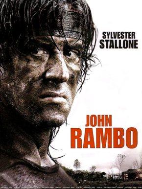 Cartel de John Rambo
