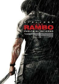 Cartel español de Rambo