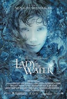 Cartel de La joven del agua