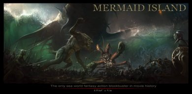 Cartel teaser de Mermaid Island