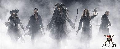 Banner Piratas del  Caribe 3