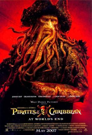 Cartel de Davy Jones en Piratas del Caribe 3