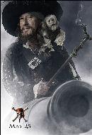 Piratas del  Caribe 3 - Barbossa