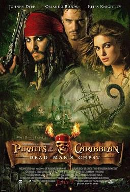 Cartel Piratas del Caribe: El cofre del hombre muerto