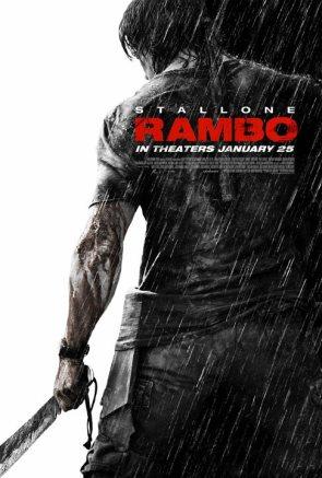Nuevo cartel Rambo IV