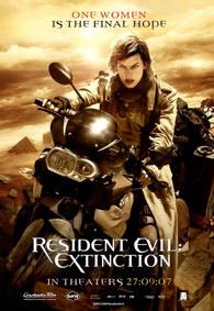 Cartel de Resident Evil: Extinction #2