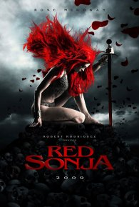Cartel de Red Sonja