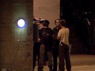 Imagen del Joker en el rodaje de TDK #1