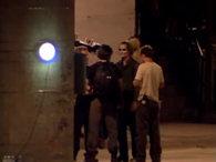 Imagen del Joker en el rodaje de TDK #2