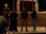 Imagen del Joker en el rodaje de TDK #3