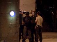 Imagen del Joker en el rodaje de TDK #4