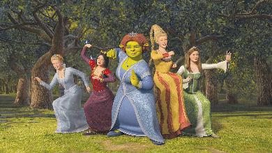 Las princesas de Shrek