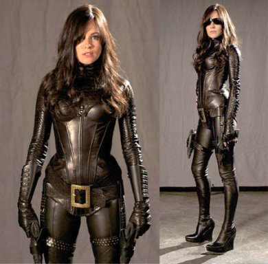 Sienna Miller como The Baroness en G.I. Joe