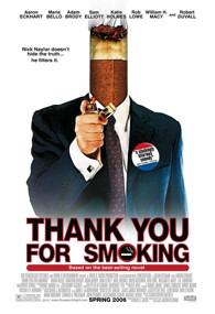 Cartel Gracias por Fumar