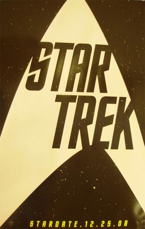 Cartel teaser de Star Trek XI