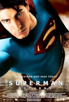 Cartel estreno de Superman Returns