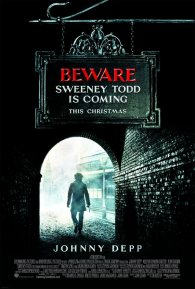 Cartel de Sweeney Todd #1
