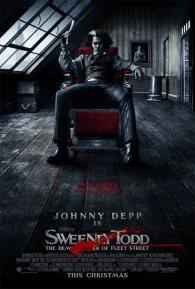 Cartel de Sweeney Todd #2