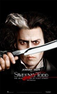 Cartel de Sweeney Todd #7