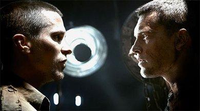 Bale y Worthington en Terminator Salvation