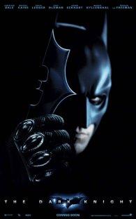 Cartel de El Caballero Oscuro - Batman