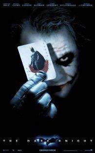 Cartel de El Caballero Oscuro - El Joker