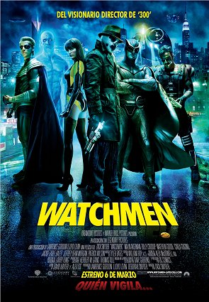 Cartel español de Watchmen