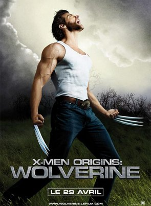 Csrtel francés de X-Men Origins: Wolverine