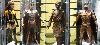 Primeras figuras de Watchmen