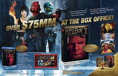Promo del DVD de Hellboy 2 #1