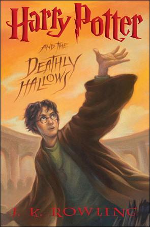 Portada del último libro de Harry Potter