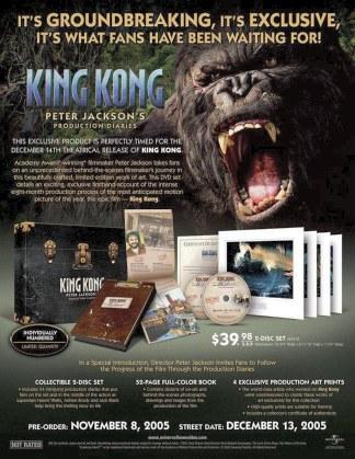 Diarios de producción de King Kong