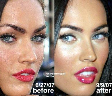 La nariz de Megan Fox #1
