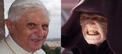 Ratzinger Dark Sidious