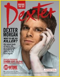 Portada falsa Dexter - Interview Magazine
